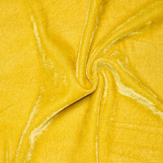 Stretch velvet fabric