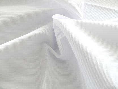 WHITE LIGHTWEIGHT PIQUE FABRIC