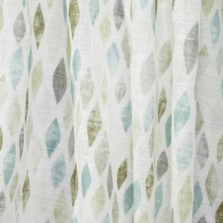 Patterned net curtain fabrics
